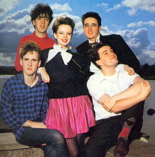 Altered Images being Pinky Blue