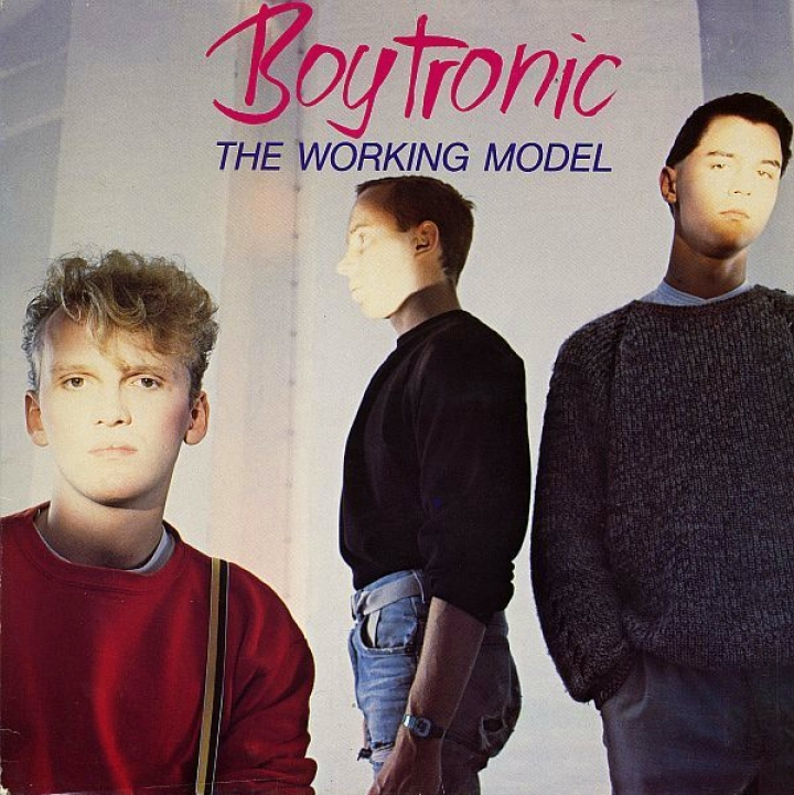 Boytronic, The Working Model Mercury, lp 1983