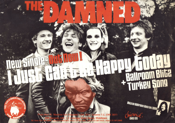 The Damned, I Just Can't Be Happy Today
