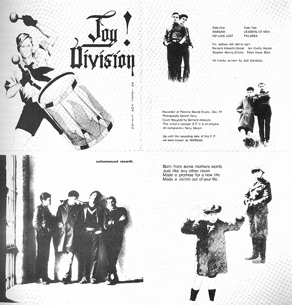 Joy Division, An Ideal For Living
