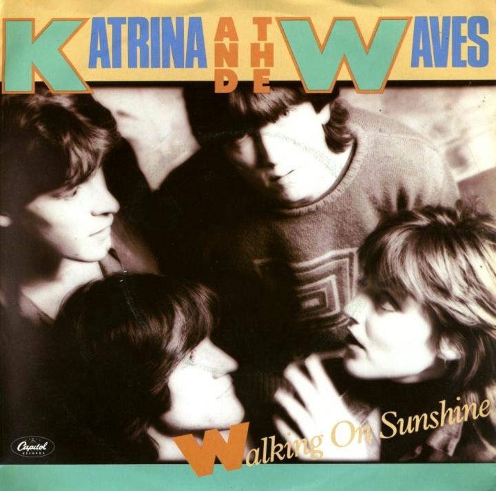 Katarina & The Waves, Walking on Sunshine