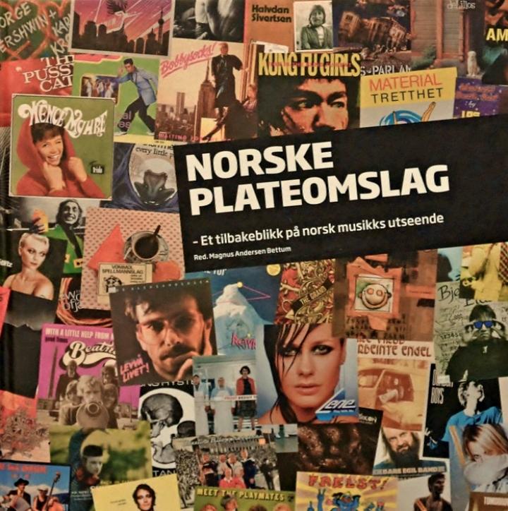 Magnus Andersen Bettum, Norske Plateomslag