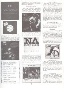 The Cosmic Dropouts, Vinyl 1988